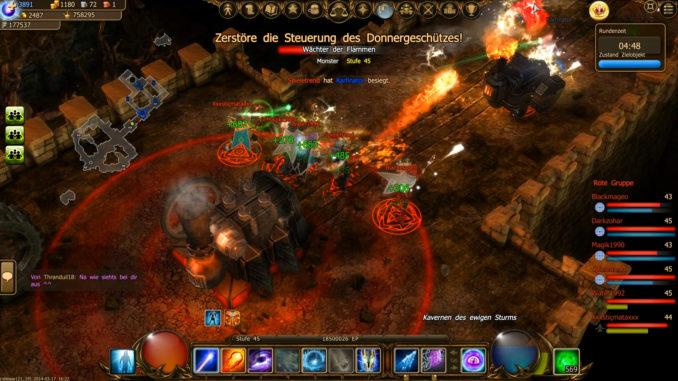 6v6-Spielmodus in Drakensang Online (PvP