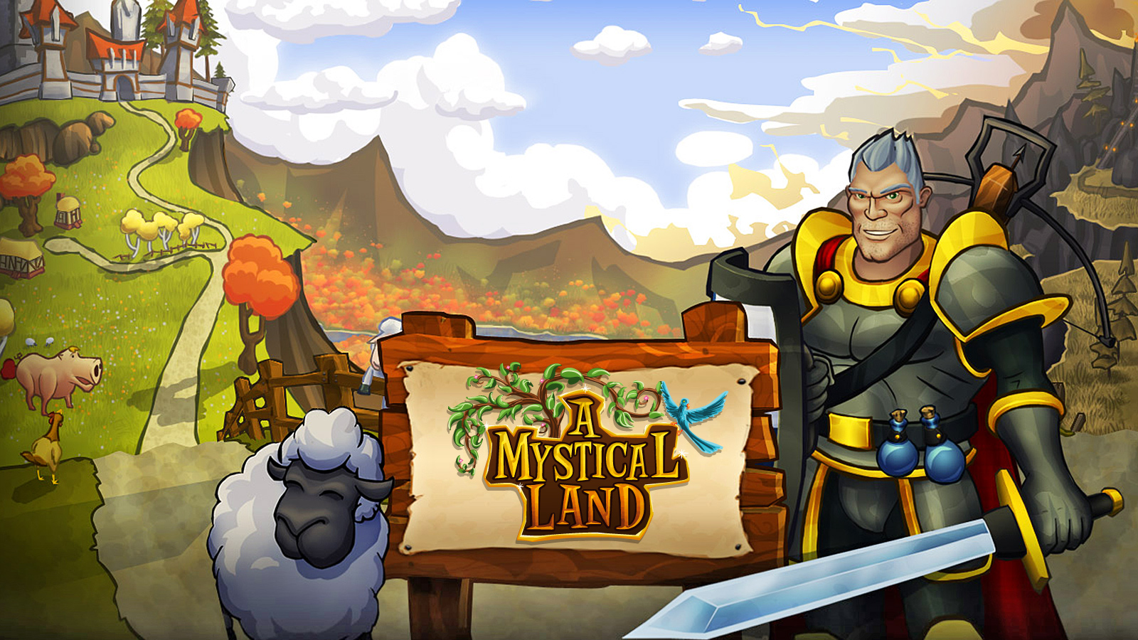 A Mystical Land MMORPG Spiel (Free2Play)