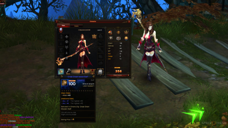 Action Browsergame RPG