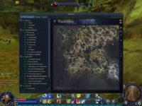Quests und Gebiete auf der Karte einsehen
