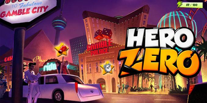 Hero Zero mit einer brandneuen Zone