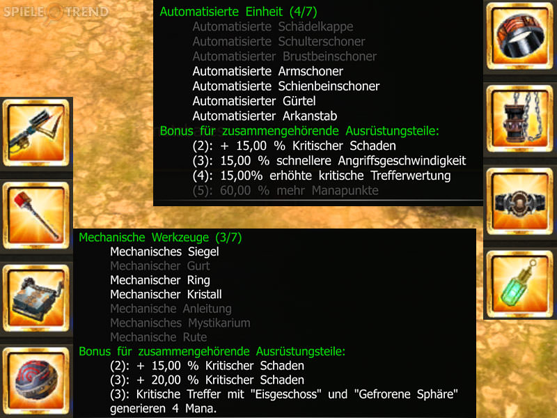 Andrakasch Unique Item Sets