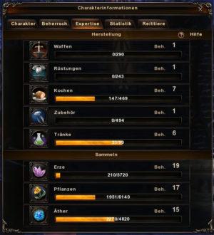 Das Handwerkssystem in Archlord 2