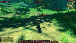 Gameplay zum MMORPG