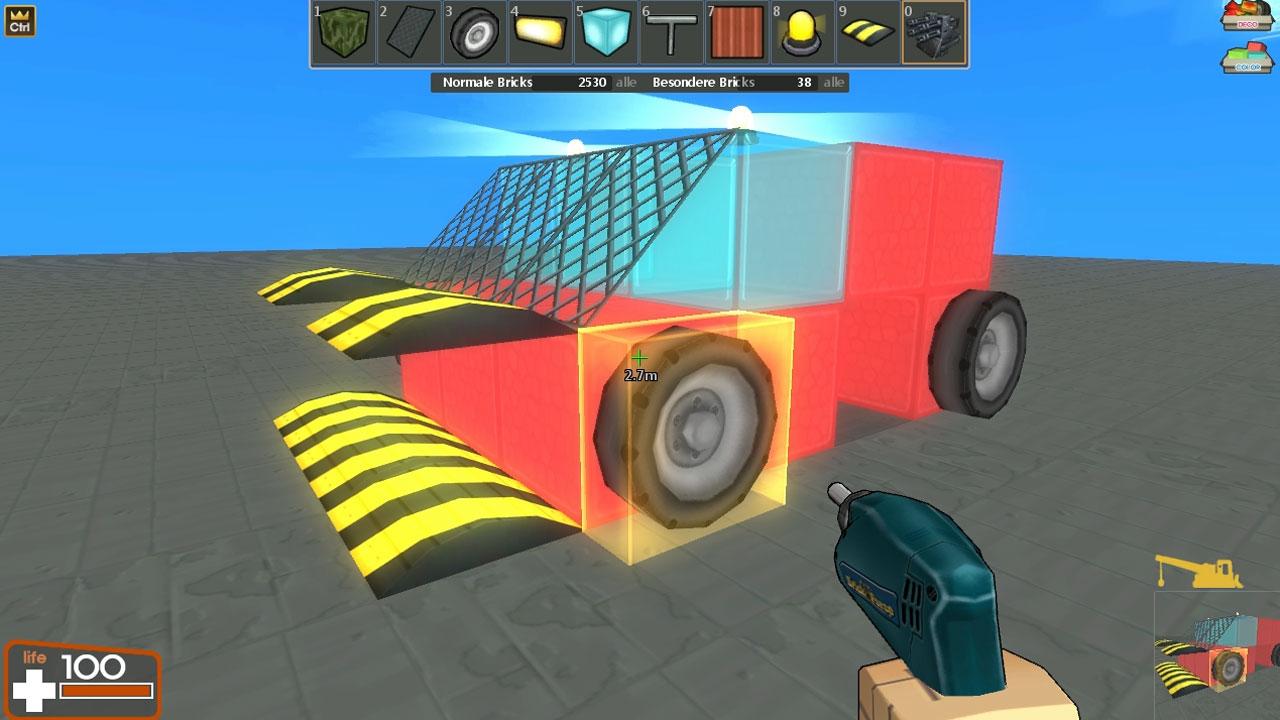 auto bauen spiel