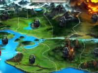 Battle of Beasts Weltkarte