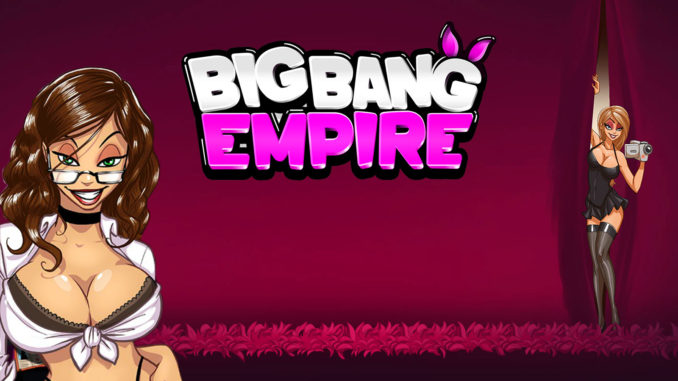 Big Bang Empire, sexy Erotikspiel