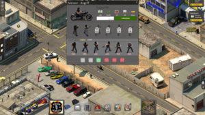 Biker anheuern im Browsergame