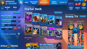 Brawl of Ages Karten Decks