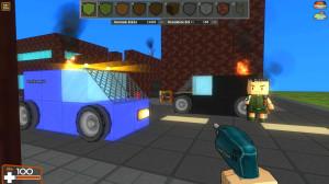 Brick Force Gameplay beim Bauen von Maps