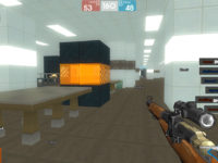 Gameplay in Brick Force
