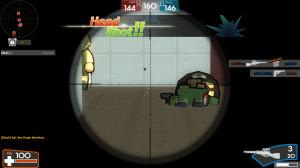 Headshot mit der Sniper in Brick Force