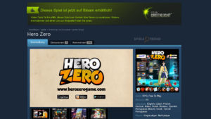 Browserspiel Hero Zero