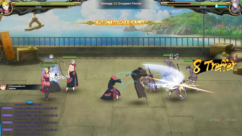 Naruto Online: Kostenloses Browserspiel