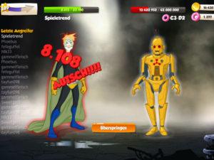 C3-D2, der Roboter-Schurke aus Hero Zero