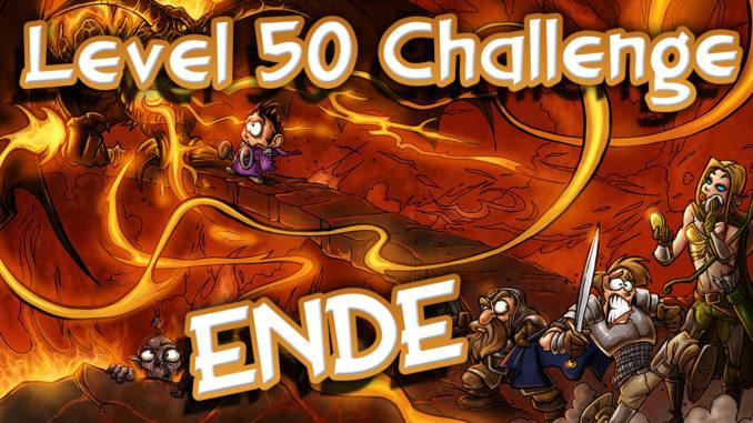SFGame Level 50 Challenge Ende