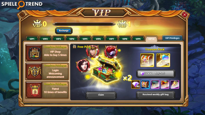 VIP Account in Chronicles of Eidola