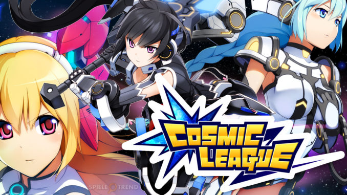 Cosmic League Game auf Deutsch