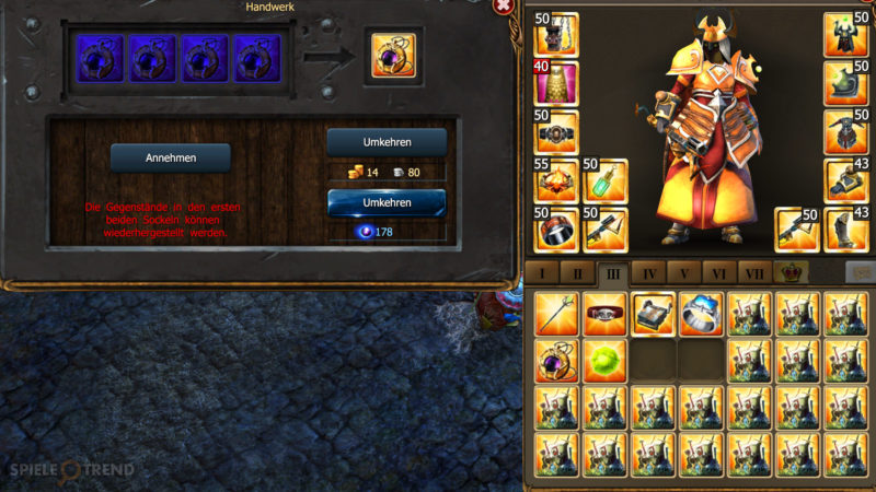 Crafting 2.0 mit Release 166 in Drakensang