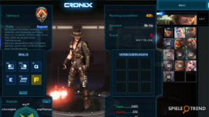 Gameplay zu CroNix Online