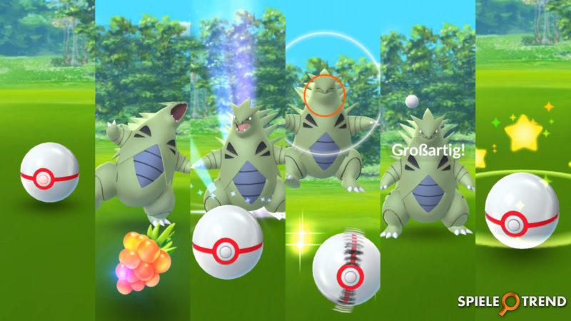 Seltene Monster in Pokémon GO finden