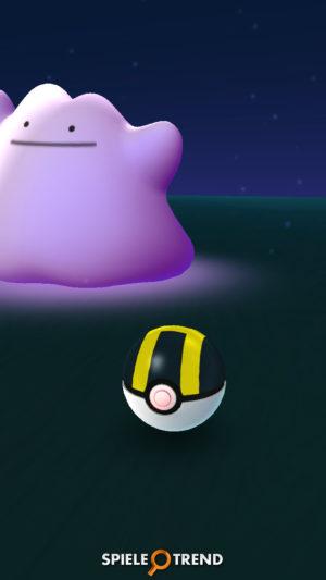 Ditto mit Hyperball fangen