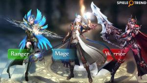 Klassen im MMORPG