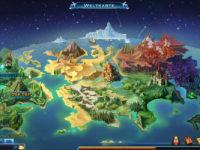 Drachenkrieger Weltkarte