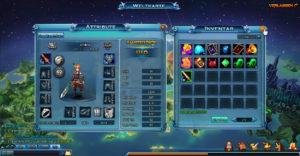Charaktere im MMORPG Drachenkrieger