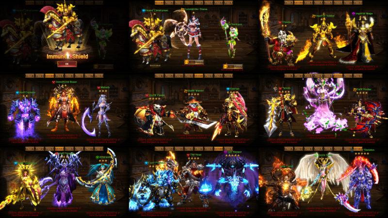 Alle Charaktere aus Dragon Awaken