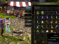 Das Inventarfenster in Dragon Nest