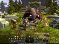 Minotauren-Boss im MMORPG