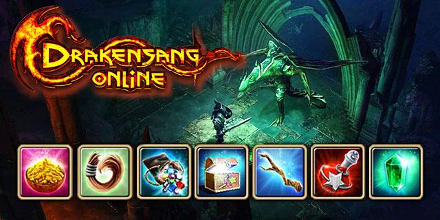 Bonus für das Einloggen im Browsergame Drakensang Online