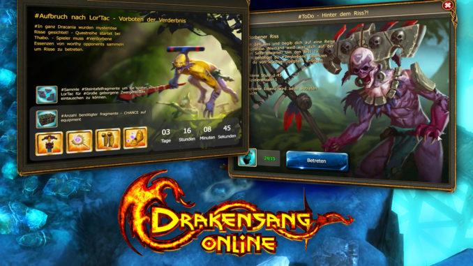 Drakensang Online bringt Release 154 und Lortac Event