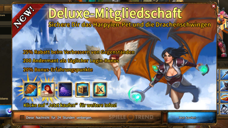 Drakensang Online Premium Deluxe Accounts
