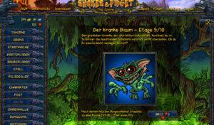 Dungeon 6 Etage 5, Shakes und Fidget