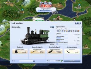 Eisenbahn Simulationsspiel