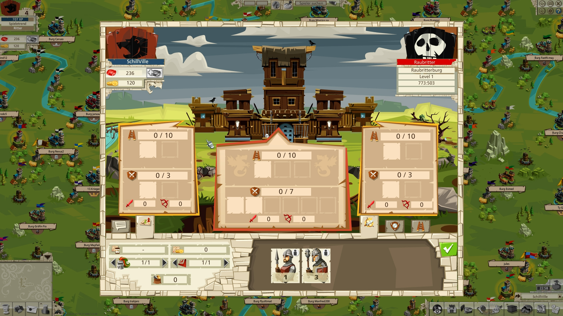 goodgame empire four kingdoms update