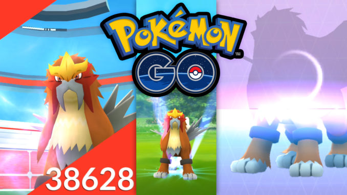 Pokémon GO Entei Raid