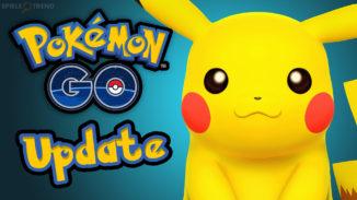 Erstes Pokémon GO Update 2017