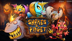 Event Begleiter in Shakes & Fidget