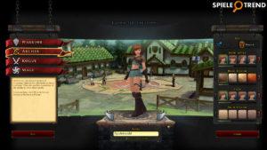 Fantasy-MMORPG Spiel