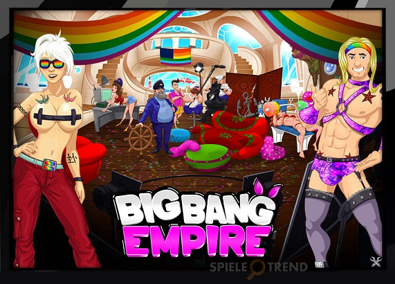 Filmstudio in Big Bang Empire
