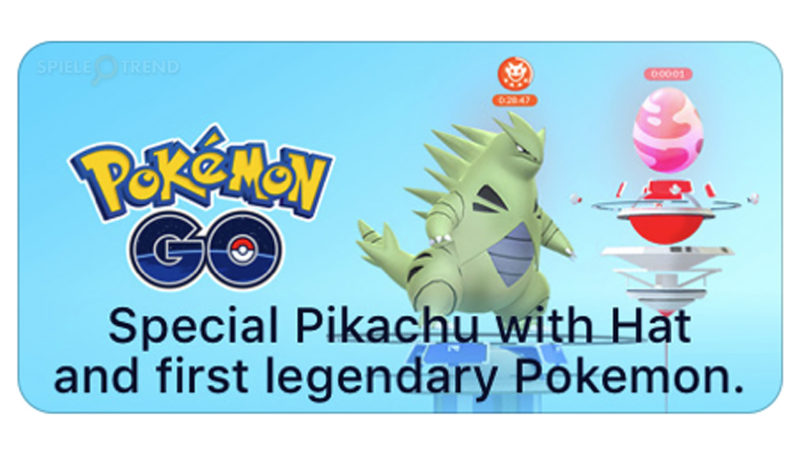 Die ersten legendären Pokémon in GO