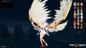 Flügel MMORPG Spiel