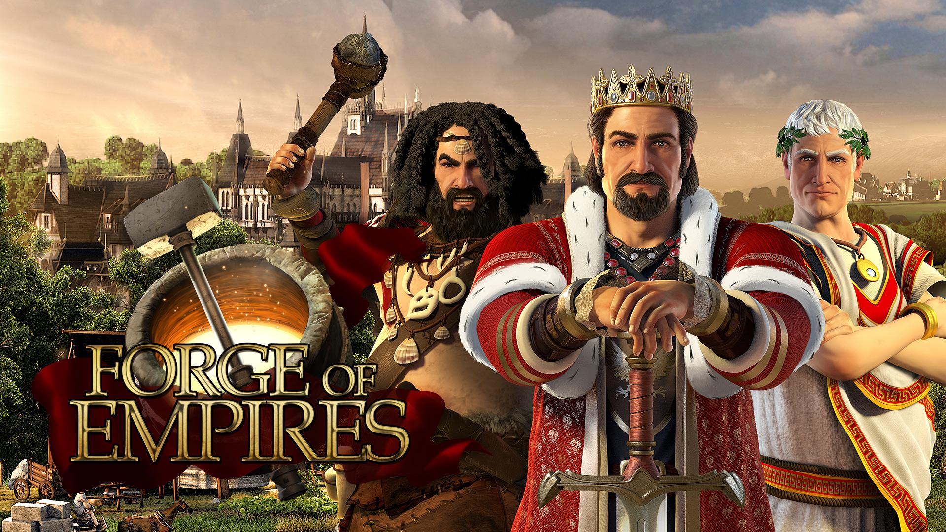 Forge of Empires - Bestes Strategie Aufbauspiel 2015 / 2016