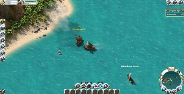 Free2Play Actionspiele und Kämpfe in Echtzeit (Pirate Storm)
