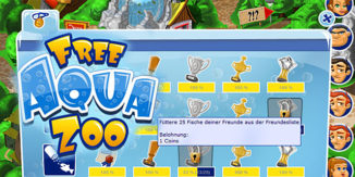 FreeAquaZoo Browserspiel Achievements