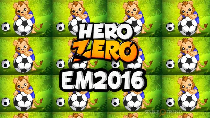 Fußball Meisterschaft 2016 in Hero Zero