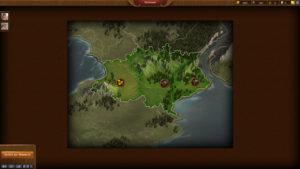Gebiete erobern und Feinde vernichten